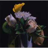 Bouquet in a Silver Cup