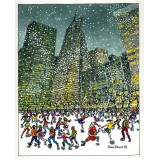 Bryant Park, Winter