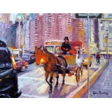 Columbus Circle Carriage Horse, Broadway and West 59th St