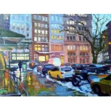 Duane St and Hudson St, Tribeca