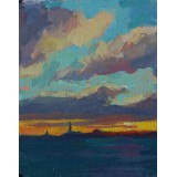 End of Day on the Bay