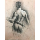 Figure Study, Santiago