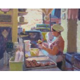 Icing the Cupcakes, Magnolia Bakery, Bleecker and West 11th