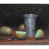 Kiwi and Pewter Cup
