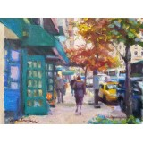 Madison Ave at 93rd St, Fall Day
