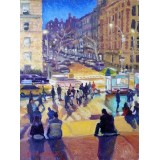 Saturday Night Outside The Metropolitan Museum of Art