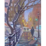 Washington Square North at Waverly Place